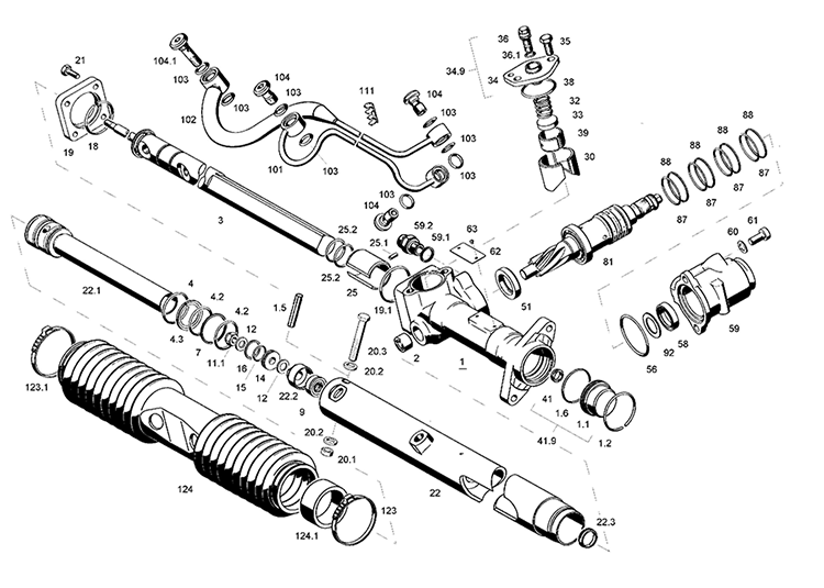 Ремонт рулевой рейки с гуром своими руками на 2112